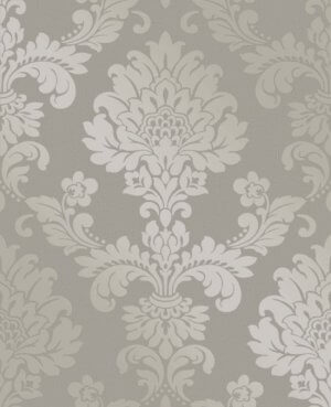 Quartz Damask Wallpaper
