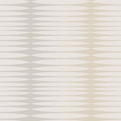 Chic Structures Metallic Modern Stripe Wallpaper Neutral