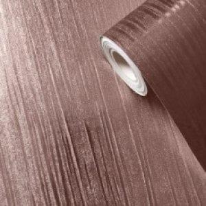 Mia Texture Wallpaper Rose Gold