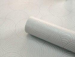 Eternal Metallic Geometric Wallpaper