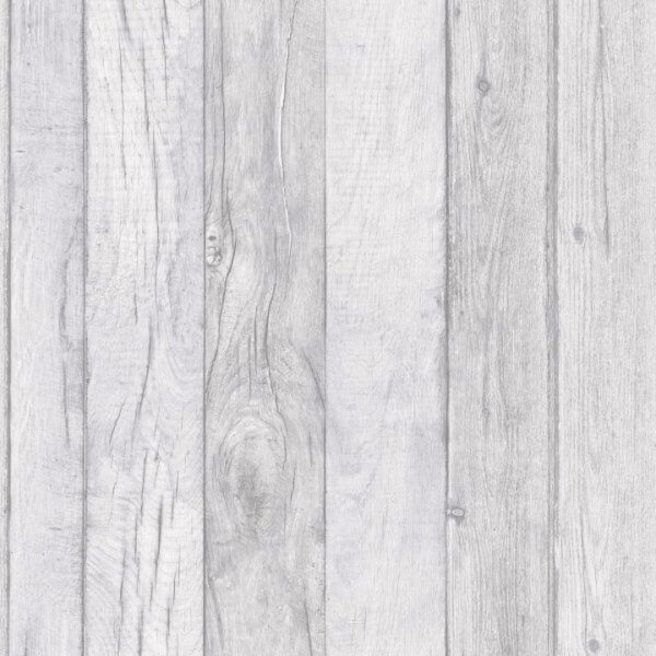 Wood Paneling Effect Grey Wallpaper Ideco Decorating Centre