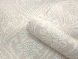 Blenheim Glitter Damask Wallpaper