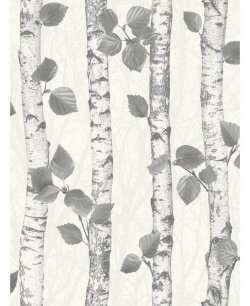Fine Decor Sparkle Birch Wood Wallpaper