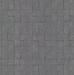 Evolve 3D Tile Effect Wallpaper Dark Grey
