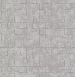 Evolve 3D Tile Effect Wallpaper Light Grey