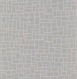 Evolve Tile Effect Wallpaper Silver