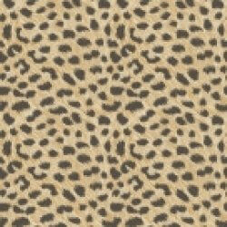 Leopard Animal Print Metallic Wallpaper Gold