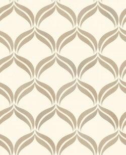 Wentworth Leaf Swirl Wallpaper