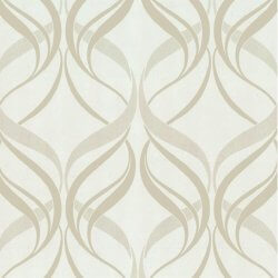 Orpheo Deluxe Swirl Metallic Wallpaper