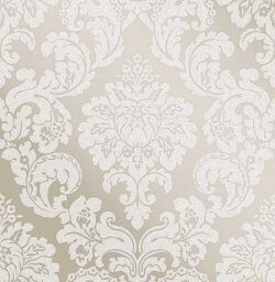 Monaco Glitter Damask Wallpaper