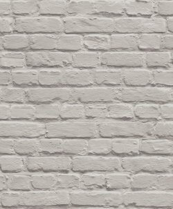 Metallic 3D Effect Brick Wallpaper