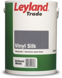 Leyland Trade Vinyl Silk Brilliant White 5L