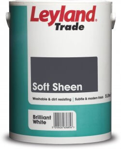 Leyland Trade Vinyl Soft Sheen Brilliant White 2.5L