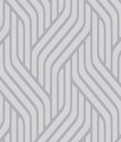 Pembrey Metallic Wave Wallpaper Silver
