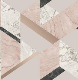 Marblesque Geometric Marble Inspired Wallpaper