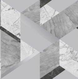 Marblesque Geometric Marble Inspired Wallpaper Grey