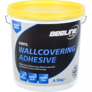 Beeline All Purpose Ready Mix Wallpaper Adhesive 4.5KG Tub