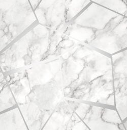 Marble Fractal Metallic Wallpaper