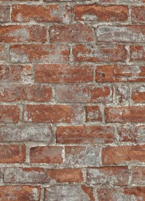 Imitations Rustic Brick Wallpaper