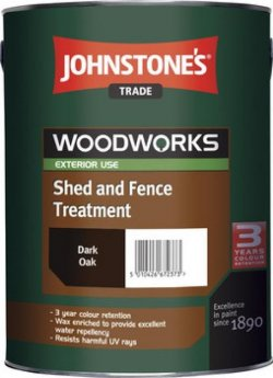 Shed and Fence Paint Johnstones Trade 5L