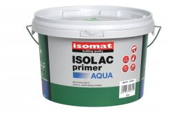 Isomat Isolac Aqua Enamel Paint for Woodwork Primer 2.5L