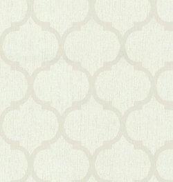Casual Chic Art Deco Oriental Wallpaper Beige