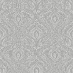 Anoushka Damask Wallpaper Dark Grey