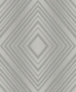 Grandeco Diamond Metropolitan Glitter Wallpaper 'Silver'