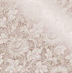 Sandringham Floral Metallic Wallpaper Rose Gold