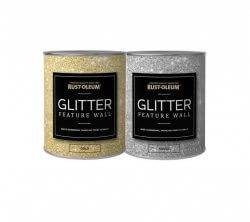 Rust-Oleum Glitter Feature Wall Paint 1 Litre