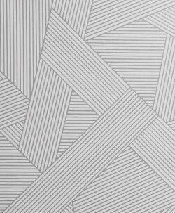 Emporium Duke Geo Sparkle Wallpaper Silver