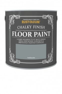 Chalky Finish Floor Paint Winter Anthracite
