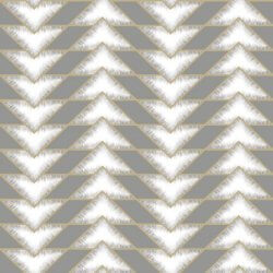 Teton Geometric Wallpaper Grey