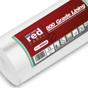Professional Lining Paper 1200 Grade Double Roll