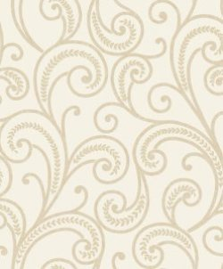 Astoria Scroll Wallpaper Cream