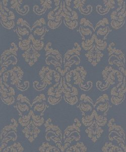 Portfolio Glitter Damask Wallpaper