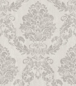 Giorgio Grand Damask Metallic Wallpaper