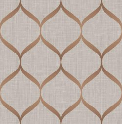 Metallic Trellis Wallpaper