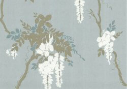 Camellia Leonora Wallpaper Teal