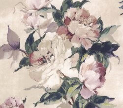 Camellia Madama Butterfly Cream Wallpaper