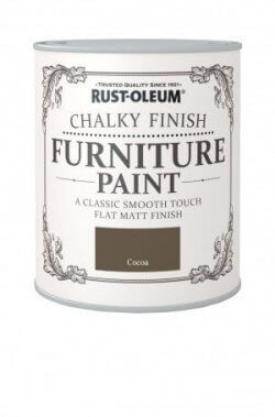 Rust-Oleum Chalky Finish Furniture Paint Cocoa
