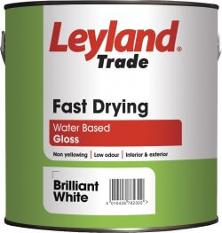 Leyland Trade Fast Dry Gloss Brilliant White 750ml