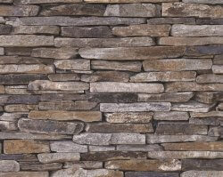 AS Creation Wood 'N Slate Natural Slate Wallpaper
