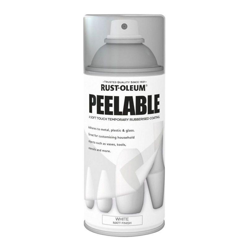 Rust-Oleum Peelable Spray Paint 150ml - Matt Finish