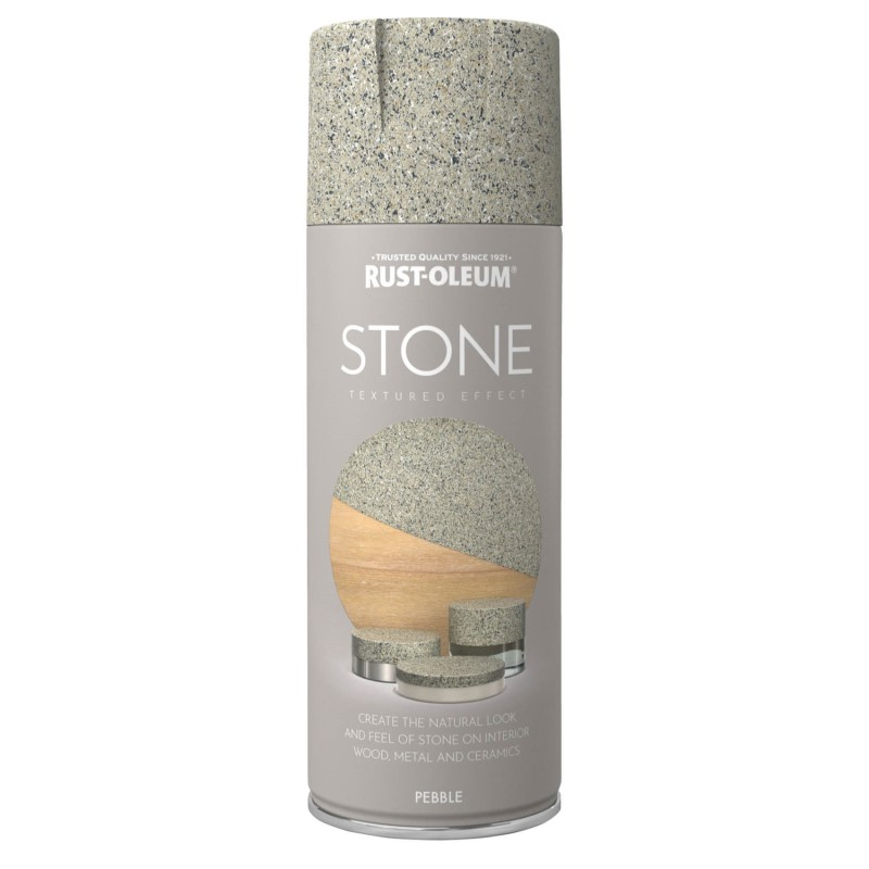 Rust-Oleum Stone Textured Effect Spray Paint 400ml