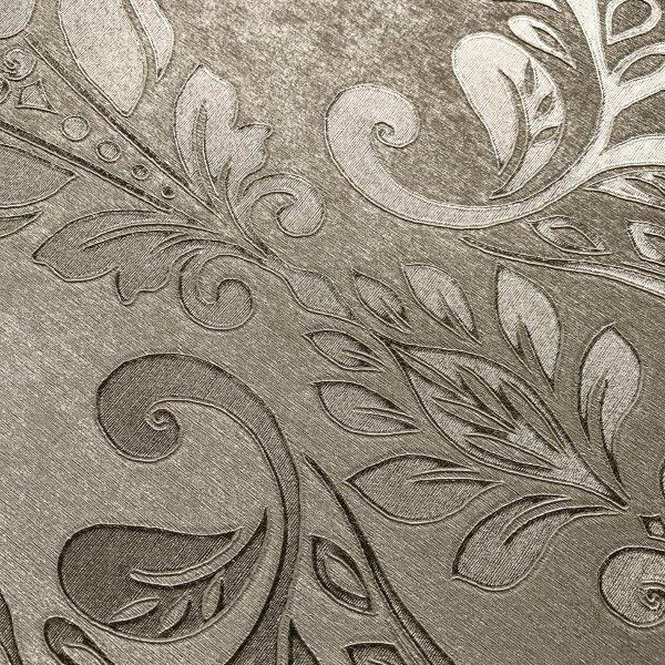 Serena Metallic Damask Wallpaper
