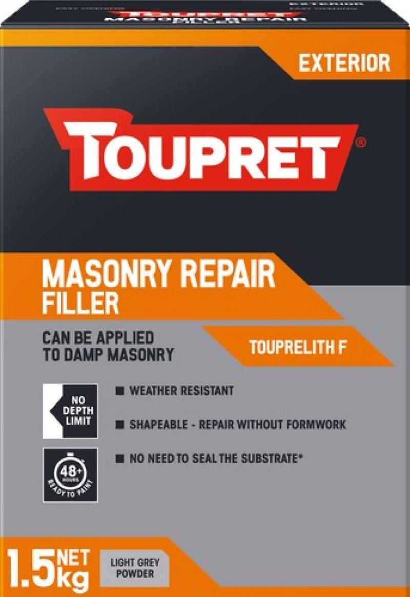 Toupret Masonry Repair Filler 1.5 kg