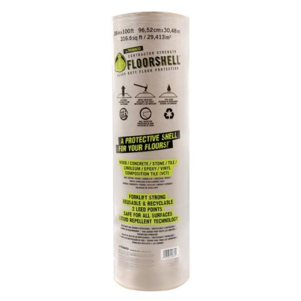 Trimaco Floorshell Heavy Duty Temporary Floor Protection